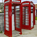 Red Phone Booths by Sally Weigand
