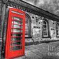 Red Phone Box by Yhun Suarez