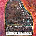 Red Piano by Anita Burgermeister