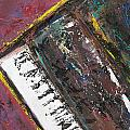 Red Piano Series 7 by Anita Burgermeister