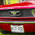 Red Pony Car by John Greaves