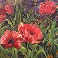 Red Poppies by Elizabeth Taft