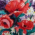 Red Poppies by Suzanne Willis