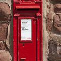 Red Postbox by Andrew  Michael