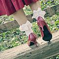 Red Pumps by Joana Kruse