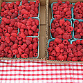 Red Raspberries Are Here by Kym Backland