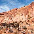 Red Rock And Blue Skies 2 by Bob and Nancy Kendrick