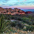 Red Rock Sunset II by Rick Berk