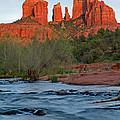 Red Rock Sunset by Sandy Sisti
