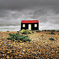 Red Roofed Hut by Andy Linden