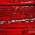 Red Rustic by Marsha Heiken