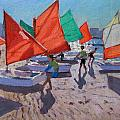Red Sails by Andrew Macara