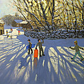 Red Sledge by Andrew Macara
