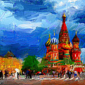 Red Square Moscow by Yury Malkov
