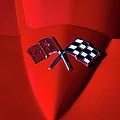 Red Stingray Badge by Douglas Pittman
