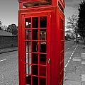 Red Telephone Box by Dawn OConnor