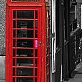 Red Telephone Box by Steve Purnell