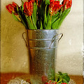 Red Tulips by Jill Battaglia