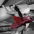 Red Tutu by Michael Yeager