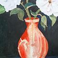 Red Vase by Audrey Bunchkowski