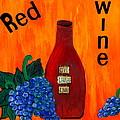 Red Wine by Cynthia Amaral