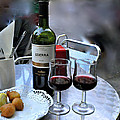 Red Wine In Barcellona by Suzanne Smith