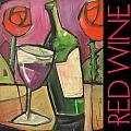 Red Wine Poster by Tim Nyberg