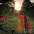 Red Witches Dance by Angel Ciesniarska