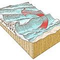 Reef Break Wave Formation, Artwork by Gary Hincks