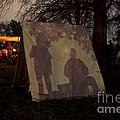 Reenactors Camp by Kim Henderson