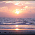 Reflected Beach Sunrise by Mike Moore