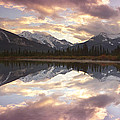Reflecting Mountains by Keith Kapple