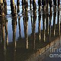 Reflections Avila Beach California by Bob Christopher