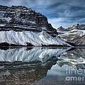 Reflections At Bow Lake by Tara Turner