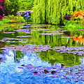 Reflections At Giverny by Dominic Piperata