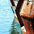 Reflections Of A Rust Bucket by Carol Groenen