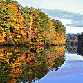 Reflections Of Autumn by Susan Leggett