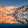 Reflections On Angel Lake by Greg Nyquist