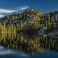Reflections On Salmon Lake by Greg Nyquist