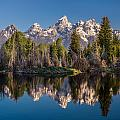 Reflections On Schwabacher Landing by Greg Nyquist