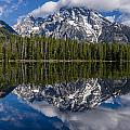 Reflections On String Lake by Greg Nyquist