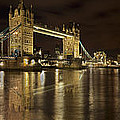 Reflections On The Thames by Fran Walding