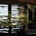 Reflections Under Pier by Dale   Ford