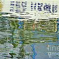 Reflective Water Abstract by Deborah Benoit