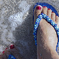 Refreshing Foot by Ivete Basso Photography