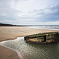 Reighton Sands Shore by Svetlana Sewell