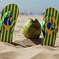 Relaxing On Copacabana by George Oze