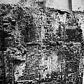 Remains Of An Old Historic House With Multiple Fireplaces In The Wall Of The Old Town Aberdeen Scotl by Joe Fox