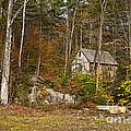 Remote Vermont Cabin by John Greim