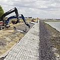 Renewing Shore Defences, Netherlands by Colin Cuthbert